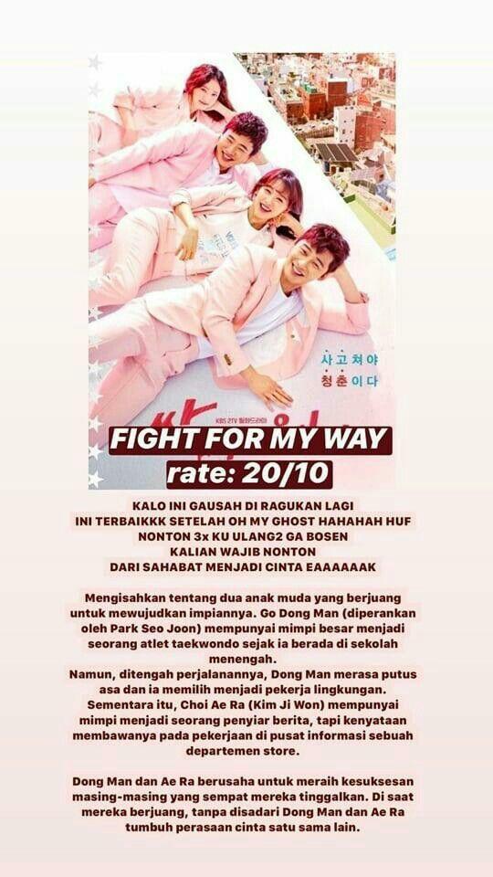 Nonton Drama Fight For My Way : nonton, drama, fight, Fight