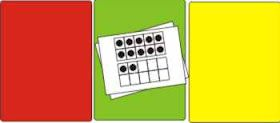 """Good guided math ideas: counting mats, """"fast, slow, don't know"""" flash card practice"""