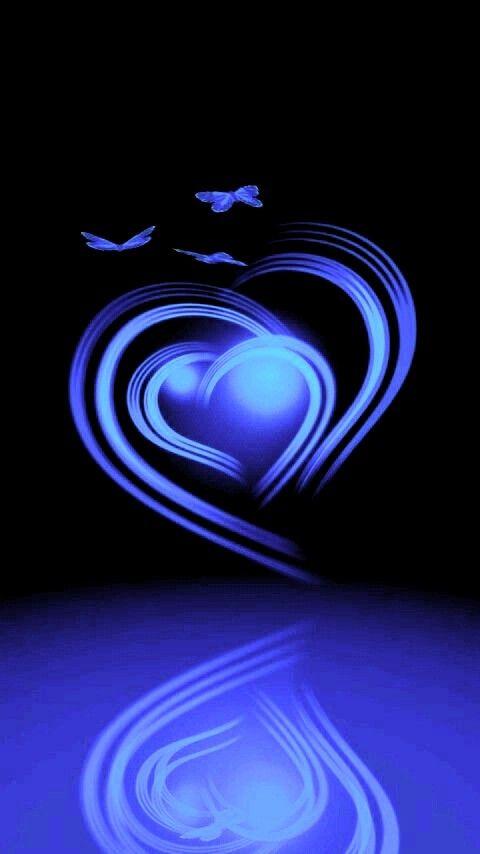 Wallpaper By Artist Unknown Heart Wallpaper Colorful Heart Love Wallpaper Blue wallpaper of love