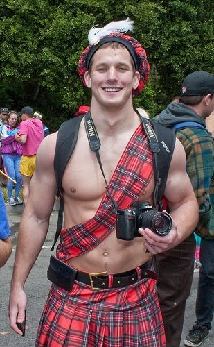Nice kilt.....have to have our boys fitted for kilts!