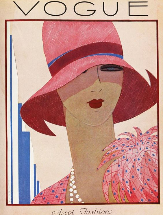 May 1927, Ascot Fashions;  great  piece to frame and  hang in the  dressing room...
