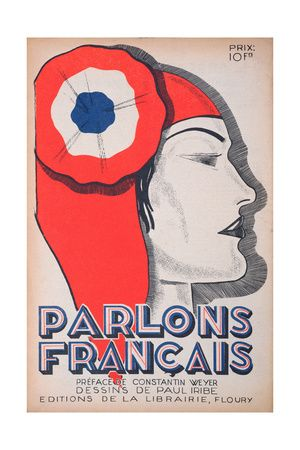 The Witness, Caricature of Marianne, from 'Parlons Francais', 1st July 1934 Lámina giclée por Paul Iribe en AllPosters.com.ar.