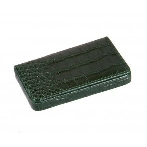 Green croc with red magnetic business card holder stocking fillers green croc with red magnetic business card holder colourmoves