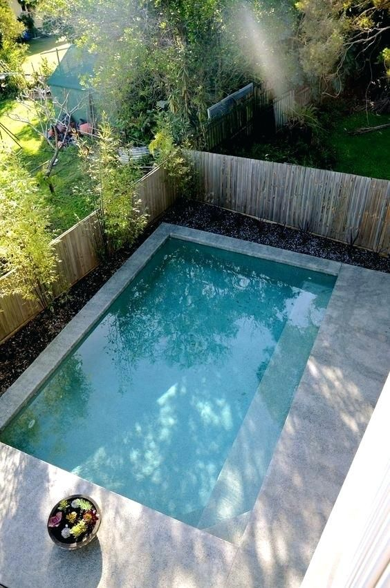 What Is A Plunge Pool High Force Plunge Small Pool Design