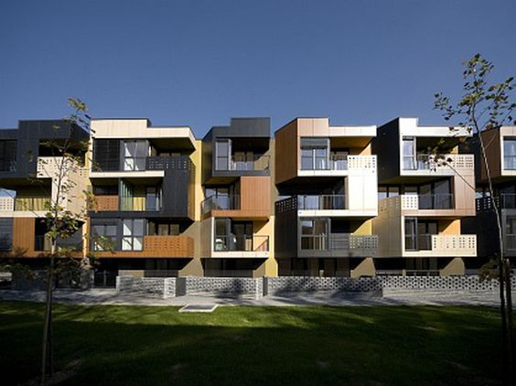 Nice Modern Apartment Building Design Model Tetris Stylendesigns
