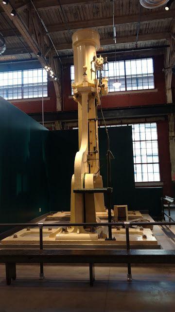 Паровий молот. Національний музей Індустріальної Історії, Бетлехем, Пенсильванія (National Museum of Industrial History in Bethlehem, Pa)