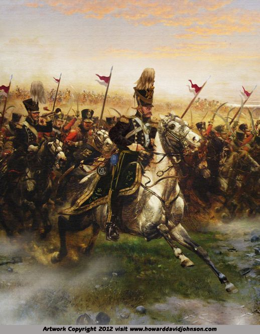 The Charge of the Light Brigade The horse he sweats with fear we break to run The mighty roar of the Russian guns