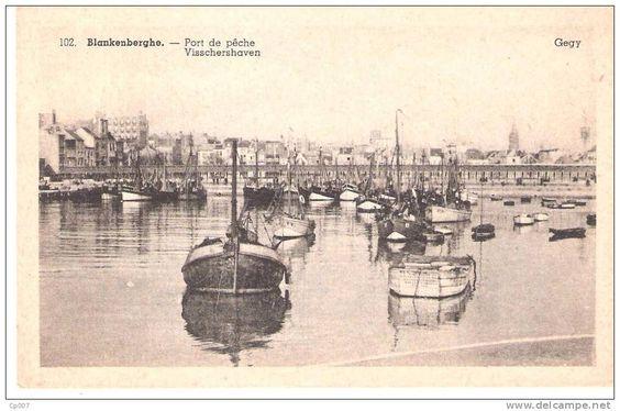 BLANKENBERGHE Port de pêche Gegy 102.