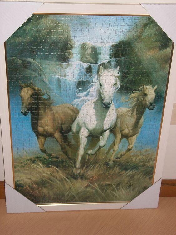 Cavalos Selvagens - 1000 peças - Grow