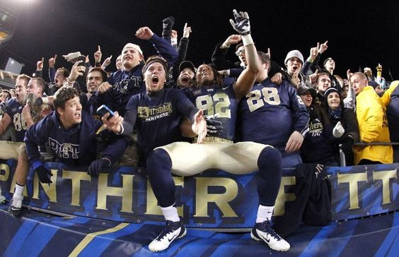 My favorite sports moment from 11/09/2013- Pitt beats Notre Dame!!!!!!