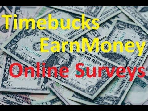 Timebucks Survey Tips And Tricks Start Online Business Earn