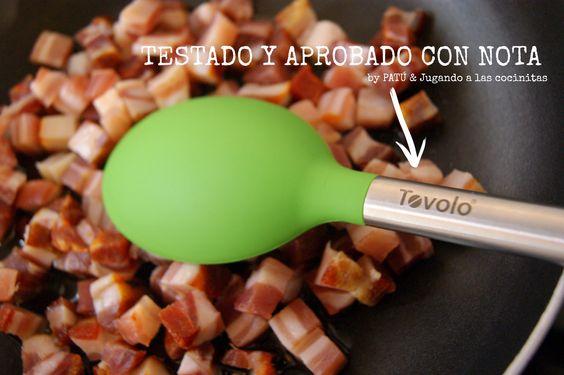 Mis cucharas de cocina favoritas Tovolo® de Patú (C/ Galileo nº68, Madrid)  Calidad, comodidad, diseño y color. ¡Os las recomiendo sin duda!