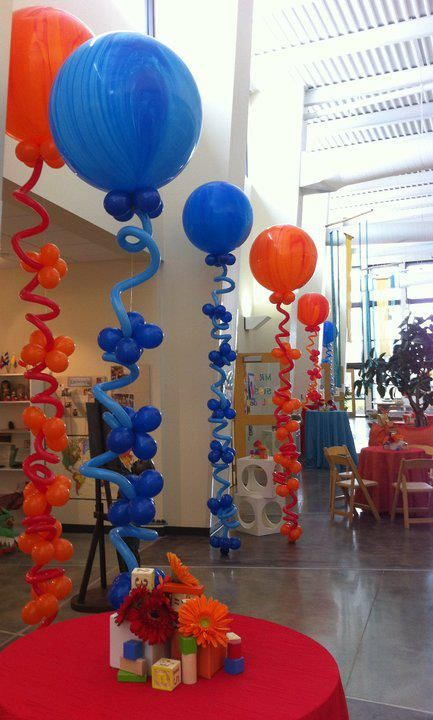 Balloon flowers towers and balloons on pinterest