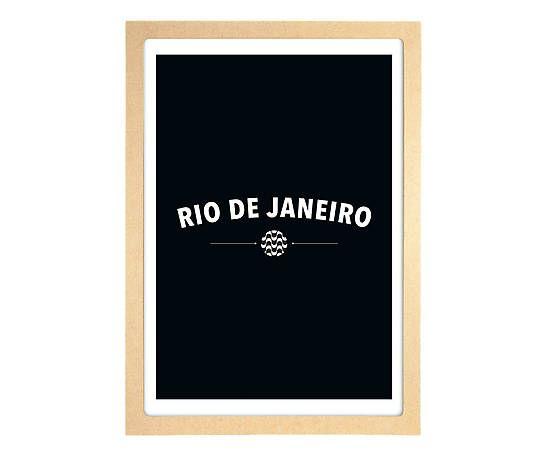 Pôster Rio - A5