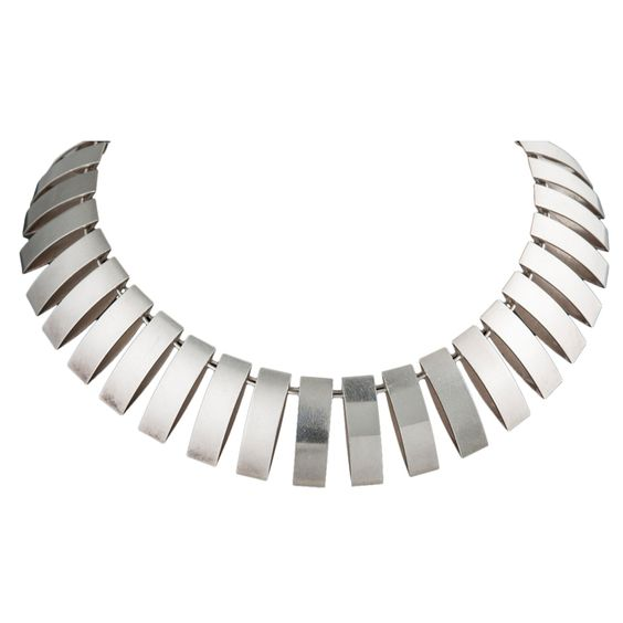 1stdibs - Georg Jensen Malinowski Necklace 1968 circa explore items from 1,700  global dealers at 1stdibs.com