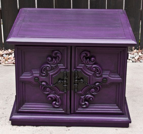 purple shabby chic furniture and purple love on pinterest