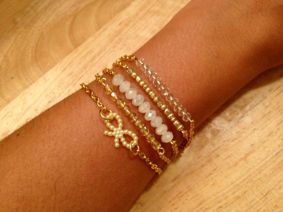 The Paris Arm Stack by elladolce on Etsy, $35.00