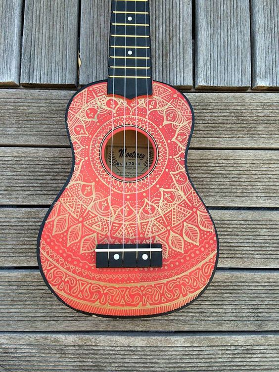 Custom Design/Doodle on Ukulele