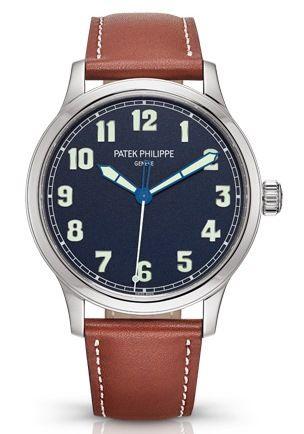 Patek Philippe Calatrava Pilot wristwatch Ref. 5522 New York 2017 Special Edition