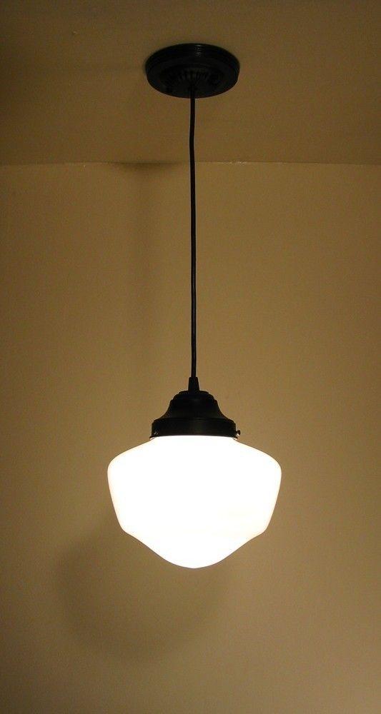 Machias pendant light fixture school house replica for Traditional kitchen light fixtures