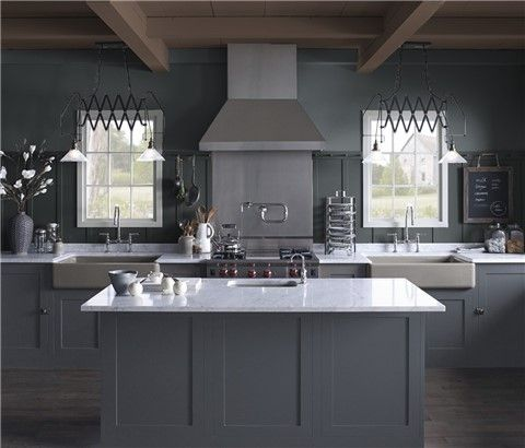 Kitchen Cabinet Colors, Best Gray Paint For Kitchen Cabinets Benjamin Moore