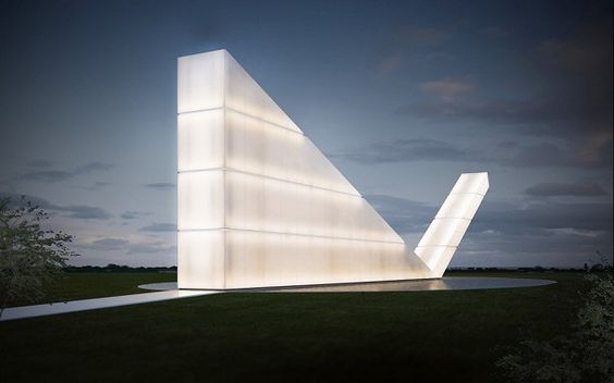 Freedom of the Press monument by Gustavo Penna Arquiteto & Associates http://www.mydesignweek.eu/5-most-ingenious-architectural-works-of-2014/#.VKapjSusXkU