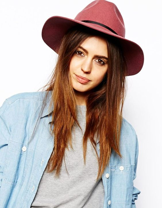 Asos Felt Fedora Hat on ShopStyle