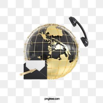 Golden Globe 3d Render Png Golden Globes Globe Png