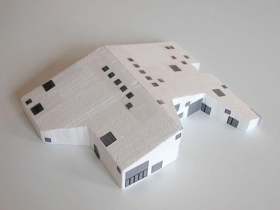 sketch model | Landsbyhuset | Gyrstinge | CEBRA