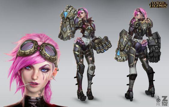 Блог разработчиков: как создавалась Вай | League of Legends