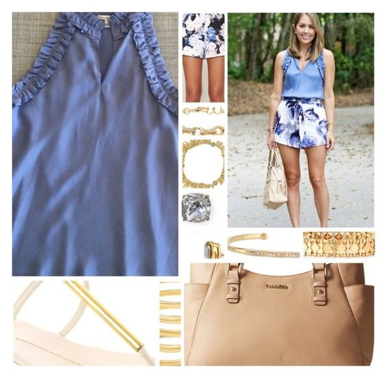 """Inspired By:: J's Everyday Fashion"" by sbhackney ❤ liked on Polyvore featuring Banana Republic, Dolce Vita, Calvin Klein, Keepsake the Label, Stella & Dot and Kate Spade"