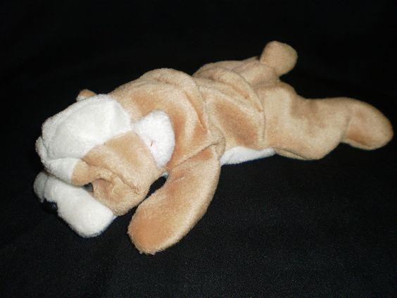 CUTE Bean Bag PLUSH Soft Toy BULLDOG Puppy