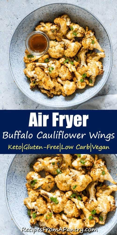Air Fryer Buffalo Cauliflower Wings Are So Delicious And