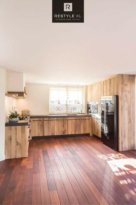 Eiken keuken van restylexl.#restylexl #keukens #keuken ...
