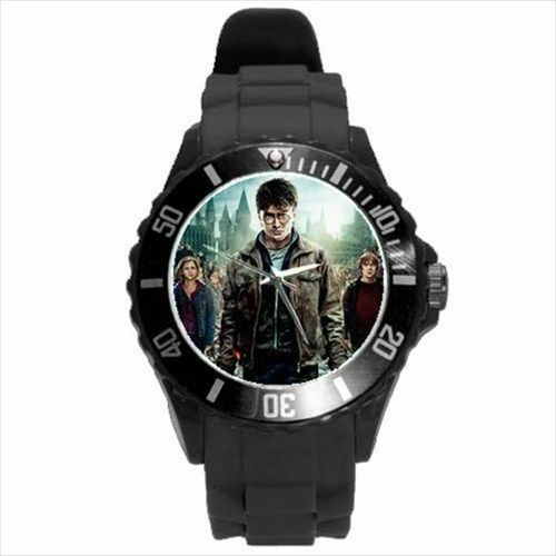Harry Potter Deathly Hallows Collectible Picture Plastic Sport Watch 8 Colors Unbranded Harry Potter Deathly Hallows Harry Potter Sport Watches