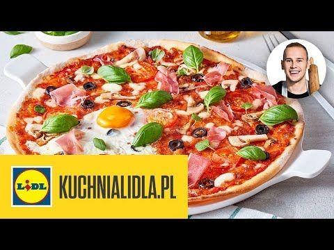 Pizza Na Cienkim Ciescie Dg Kuchnia Lidla Youtube Vegetable Pizza Food Pizza