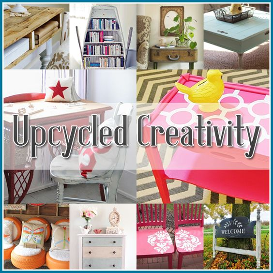 Repurposed And Upcycled Farmhouse Style Diy Projects: 20 Upcycled Creations