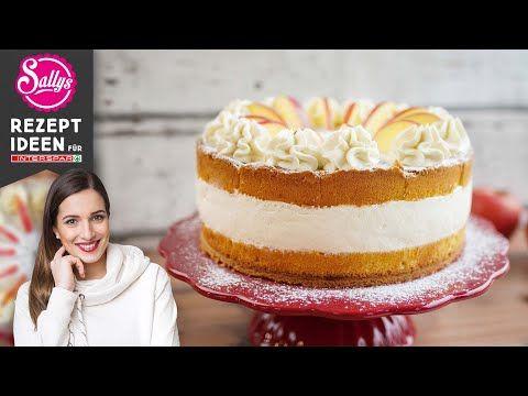Sallys Apfel Kirsch Torte Youtube In 2020 Kuchen Und Torten Kuchen Ideen Rezepte