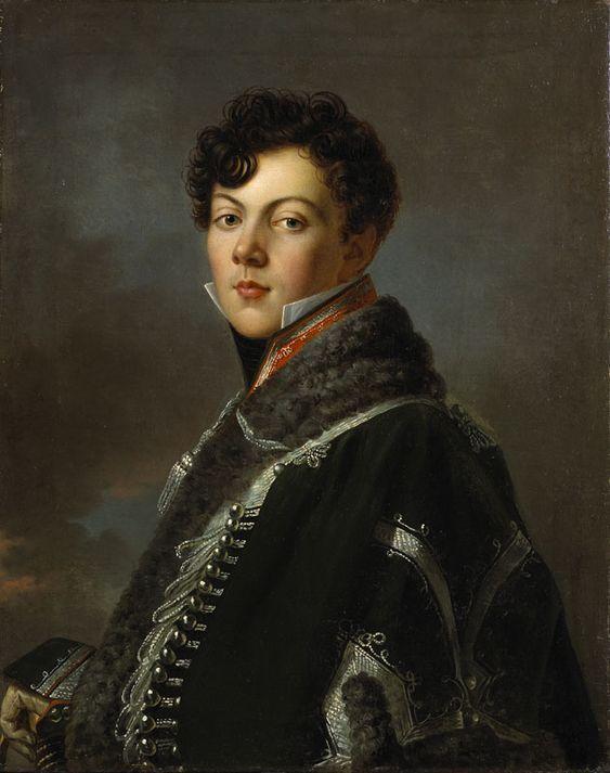 Portrait de Jules de Rességuier, en Uniforme, 1801-1805 by Baron François-Pascal-Simon GERARD: