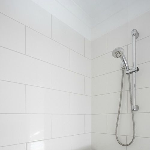 white matte finish ceramic wall tile