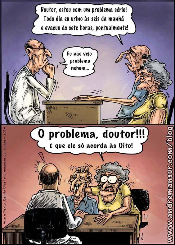 Um pequeno problema ao chegar na velhice | Humor da Terra
