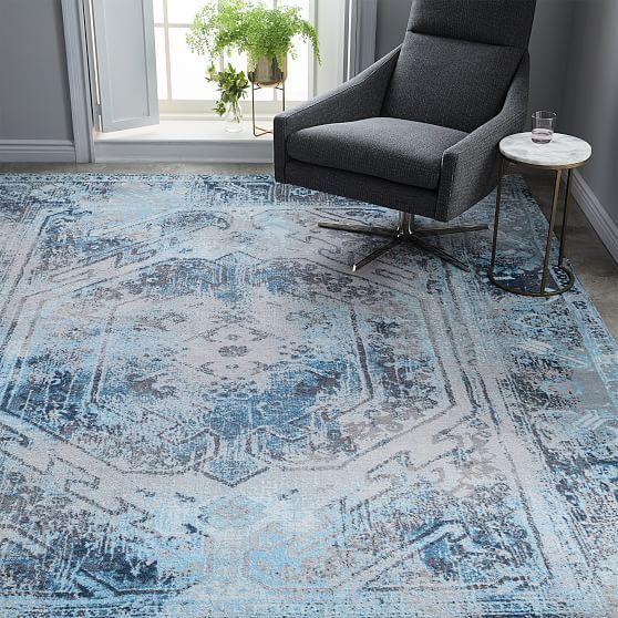 Echo Print Rug Rugs In Living Room Room Rugs Decor