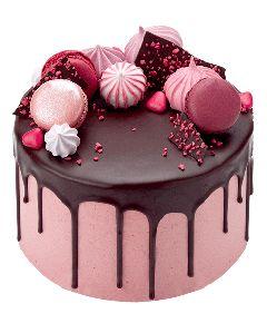 Chocolate Raspberry Drip Cake. Peggy Porschen