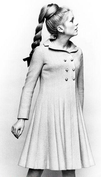 Catherine Deneuve, C. 1960's. Photographed by Sharok Hatami