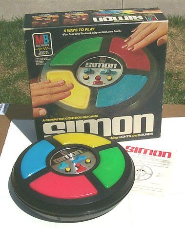 Vintage 70's Simon Game by twitchery, via Flickr