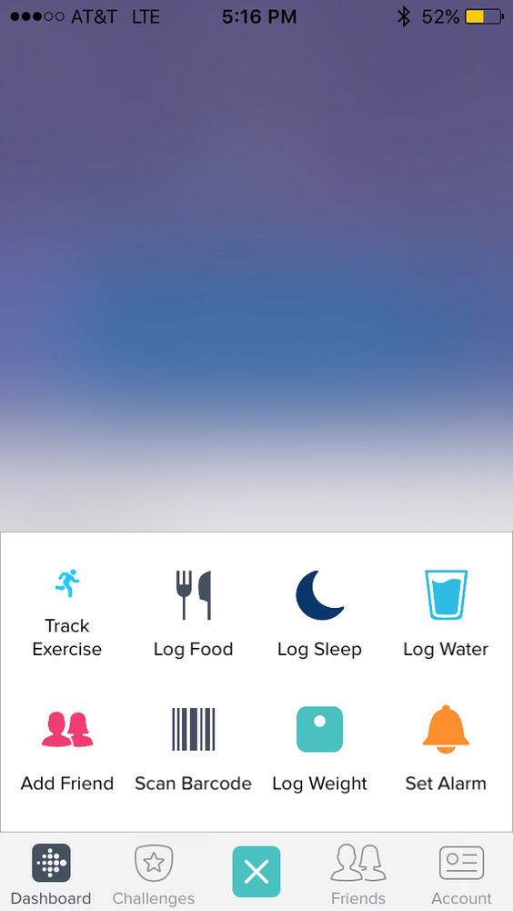 Fitbit: Tracking Buttons