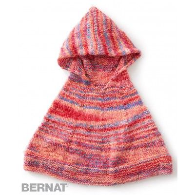 Knit poncho, Ponchos and The rainbow on Pinterest