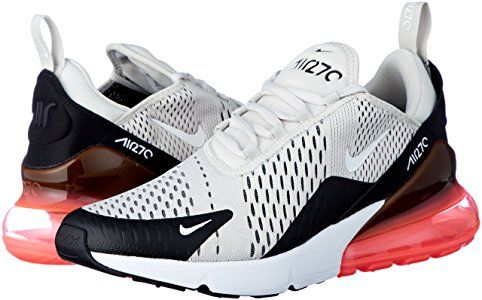 aventuras efectivo equilibrio  NIKE Men's Air Max 270, Black/Light Bone-Hot Punch #Nike #AirMax #NikeAirMax  #Training #Fitness #FittnessStyle #PersonalTrainin… | Nike air max, Nike, Air  max 270