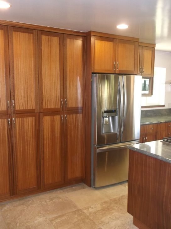 Custom Kitchen Cabinets African Mahogany Mahogany Or Teak Endearing Custom Kitchen Cabinets Review