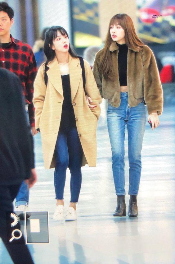 Shop Blackpink Airport Fashion Lisa Urban Look Blackpink Fashion Korean Airport Fashion Fashion